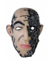 Horror feest masker cyborg