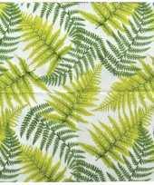 Jungle feestje servetten 3 laags 12 x 12 cm