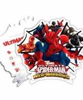 Kinderfeestje spiderman warriors uitnodigingen 10145181
