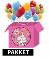 Knutsel kinderfeest pakket voor meisjes