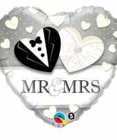 Mr en mrs folie ballon