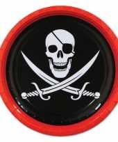 Piraat feest bordjes