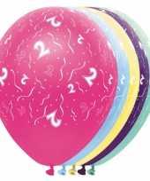 Verjaardag 2 jaar helium ballonnen