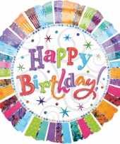 Verjaardag folie ballon helium