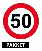 Versiering 50 jaar feestpakket