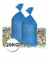 Voordeelverpakking gerecyclede feest confetti 20 kg